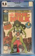 Savage She-hulk 1 Cgc 9.8 1980 Marvel Comic Book Jennifer Walters Buscema Tv