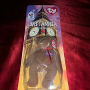 Mcdonalds Ty Beanie Baby Britannia The Bear Rare With 2 Tag Errors With 5 Free