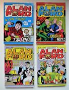 4 Alan Ford Italian Comic Books - Nos. 227. 228. 229 And 230