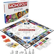 Monopoly Pixar Edition Board game Family Kids Friends Holiday Game Good Gift