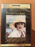 Enchanted April Dvd 1991 Miranda Richardson Joan Plowright Mint Watched Once