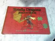 Totally Dragons Jigsaw Book Five 48-piece Jigsaw Puzzles 2007 Excellent Graphics