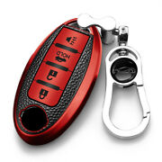 Soft Tpu+pu Smart Remote Car Key Case Cover Shell Fob For Nissan Infiniti Sylphy