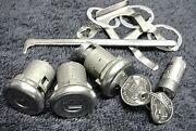 New Door Trunk And Glove Locks And Gm Keys 64 65 66 67 Oldsmobile Cutlass And F-85
