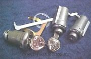 New Console Glove Trunk Locks With Keys Oldsmobile Cutlass And 442 64 - 68