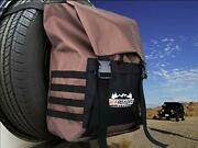 Spare Tire Trash And Gear Bag W/seat Organizer - Great Off-road Accessory For Je