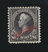 Us Philippines 223a 1 Perry Type Ii W/pf Cert Vf Og Lh Scv 1500
