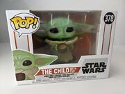 Star Wars The Child With Cup Baby Yoda Bobblehead 378 Mandalorian Collection