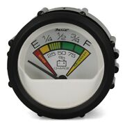 Faria Boat Battery Condition Gauge Vp7908a   Chesapeake White 2 Inch