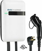 Evocharge Level 2 Ul Certified 240v Ev Electric Vehicle Charger W/ 25and039 Cable