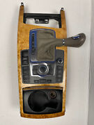 🔥2005-11 Audi A6 S6 At Center Console Shifter Cd Aux Radio Navi Control Oem