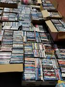 More Than 3650 Used Dvds Blu-ray Assorted Movies Tv Shows Some Video Games +++