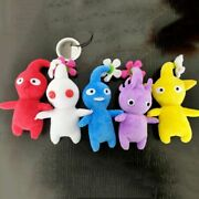 5 Pack New Pikmin Plush Toy Yellow Red Blue Flower Gift For Kids Boys Girls Toys