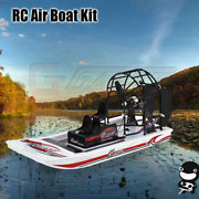 Rc Air Boat Kit High Speed Swamp Dawg Remote Control Toy Beach Water Accessories