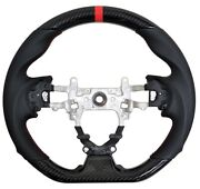 Sports Hydro Dip Carbon Steering Wheel For 2012-2015 Honda Civic Gen 9th Si New