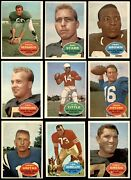 1960 Topps Football Complete Set 6 - Ex/mt