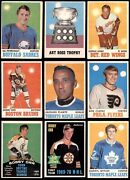 1970-71 O-pee-chee Hockey Partial Complete Set 4 - Vg/ex