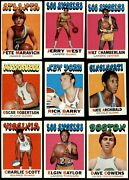 1971-72 Topps Basketball Almost Complete Set 4.5 - Vg/ex+