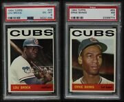 1964 Topps Chicago Cubs Team Set 7 - Nm