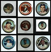 Topps Coins 1964 Topps Baseball Coins Complete Set 2.5 - Gd+