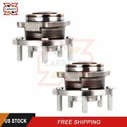 Pair Of 2 Lh Or Rh Wheel Hub Bearing Front For Chrysler Sebring 2007-2014 5 Lugs