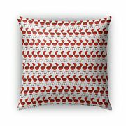 Kavka Designs Red Bbq Outdoor Pillow With Insert