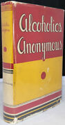 Alcoholics Anonymous First Edition 11th Printing Original Dust Jacket No Writing