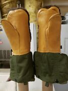Vintage Us Military Mittens / Gloves Extreme Cold Weather