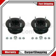 2 Moog Chassis Products Suspension Strut Mount Front For Ford Flex