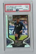 2020 Panini Select Euro Kylian Mbappe Top Of The World 7 Silver Prizm