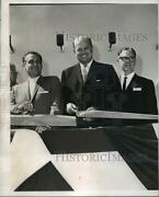1964 Press Photo Three New Orleans Officials At Airport Dedication Ceremony