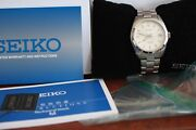 Seiko Sarb035 White Dial - Iconic Discontinued Watch Tags And Papers. Cal 6r15