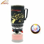 1400ml Camping Gas Stove Fires Cooking System And Portable Gas Burners
