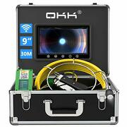 Sewer Camera, 30m Wireless Wifi Pipe Inspection Camera For Android/ios Drain 9