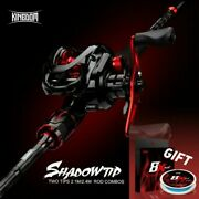 Baitcasting Rod Combo Fishing Rods Kingdom Shadow-tip New 2.1m 2.4m Two Top Tip