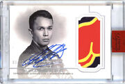 2020 Topps Formula 1 Dynasty Alexander Albon Auto Patch 3/10 Red Bull Racing F1