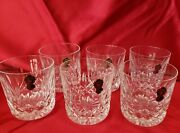 Antique Waterford Crystal Lismore 9 Oz Tumblers - Set Of 6 - Brand New