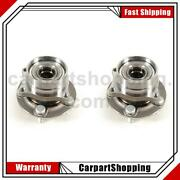 2 Mevotech Bxt Wheel Bearing And Hub Assembly Front For Toyota Prius