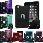 Lot For Ipad Mini 1/2/3/4/5 Military Rubber Heavy Duty Shockproof Case Wholesale