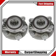 2 Nsk Wheel Bearing And Hub Assembly Front For Toyota Corolla Im
