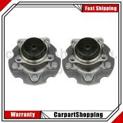2 Nsk Wheel Bearing And Hub Assembly Rear For Toyota Corolla Im