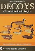 Decoys Of The Mid-atlantic Region By Henry A Fleckenstein Used