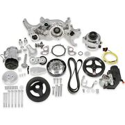 Holley 20-185p Ls Mid-mount Complete Accessory Drive Kit Fits All Ls Engines Exc