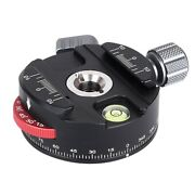 Pan-60h Camera Panoramic Ball Head Tripod Head With Indexing Rotator As Typ G2a2