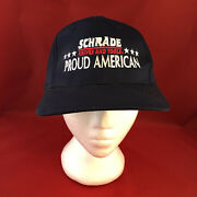 Schrade Knives And Tools Proud American Snapback Hat Made In Usa