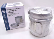 Snow Peak Kochel Cooker Set Trek 900ml Scs-008 Great For The Camping And Outdoors