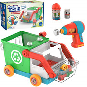 Educational Insights Design And Drill Bolt Buddies Recycling Truck Fine Motor And