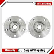 2 Moog Hub Assemblies Wheel Bearing And Hub Assembly Front For Volvo S60