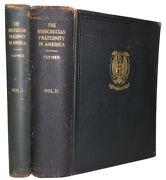 1935 1st Signed Clymer The Rosicrucian Fraternity In America Deluxe Occult