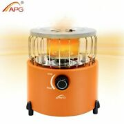 Portable Camping Stove Gas 2 In 1 Heater Outdoor Warmer Propane Butane Tent